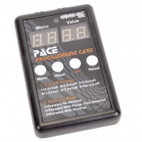 PACE 45R/60R Programming Card