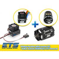ETS Hobbywing combo set 17.5T sensored