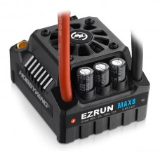 Hobbywing Ezrun MAX8-V3 T Plug Waterproof Speed Control (incl program card)