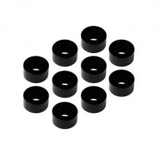 MR33 Aluminum Shim 3,0 x 6,0 x 3,0mm - Black (10 pcs)