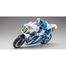 1/8 SCALE MOTORCYCLES HANGING ON RACER  SUZUKI