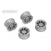 NBA261 8 Spoke Wheel +1mm (Gray)