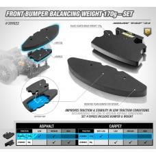 T4F'21 BALANCING BUMPER WEIGHT FRONT 170g & FOAM BUMPER