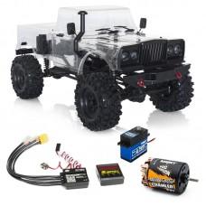 Hobbytech CRX Builder Crawler Kit V2 with Body Motor and servo and esc