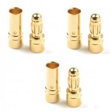 GOLD AVIONICS PLUG 3.5MM (3 PRS)