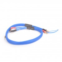 2S Lipo charge lead with XH and 4-5mm battery plugs, including 2mm balance plug. 600mm