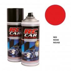 RC Car Colours Lexan Spray 150ml - Red