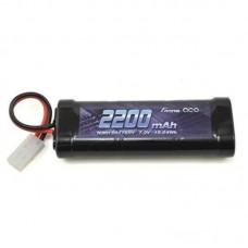Gens ace 2200mAh 7.2V NIMH Battery with Tamiya Plug