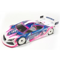 ZooRacing ZR-0006-07  HellCat  1/10 Touring Car clear Body - 0.7mm